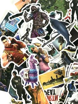 100pc Fortnite Video Game XBOX PC PS Phone Laptop Wall Decal