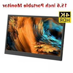15.6'' 4K 3200x1800 Portable Monitor  IPS Screen Display For