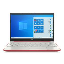 "NEW - HP 15.6"" HD Red Laptop Intel Quad Core 2.7GHz 4GB RAM"