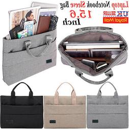 """15.6"""" inch Laptop Hand Case Sleeve Bag For DELL Sony Acer As"""