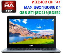 "2019 Newest ASUS 14"" Laptop AMD A6 Dual-Core 2.6GHz, up to 1"