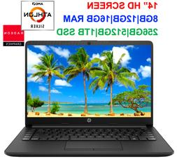 "2020 HP 14"" Laptop AMD Athlon 3050U to 3.2GHz, upto 16GB RAM"