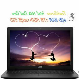 2020 Newest Dell 15.6 Touchscreen Laptop Dual-Core CPU 8GB R