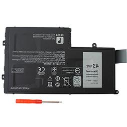 EBOYEE 11.1V 43WH TRHFF Notebook Battery Compatible Dell Ins