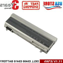6/9 Cell Battery For Dell Latitude E6400 E6410 E6500 E6510 P