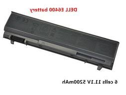 6 Cell Laptop Battery For Dell Latitude E6400 E6410 E6500 E6