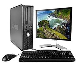 Dell OptiPlex Desktop Complete Computer Package with Windows