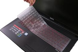 Leze - Ultra Thin Keyboard Cover for MSI GS63 GF62 GE63VR GV