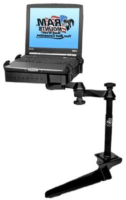 No-Drill Laptop Mount for the Ford F-250, F-350, F-450, F-55