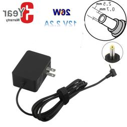 """AC Laptop Power Charger for Samsung 11.6"""" Chromebook Xe303c1"""