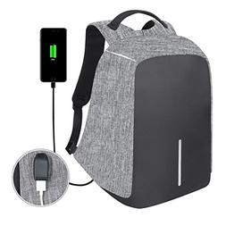 Anti-Theft Business Laptop Backpack Travel Daypack with USB