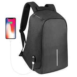 Anti Theft Laptop Backpack,ONSON Collage Backpack with USB C