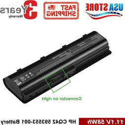 Battery for HP Pavilion G4, G6, Compaq Presario CQ42 CQ56 CQ
