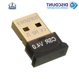 Bluetooth CSR 4.0 USB Dongle Adapter for PC's and Laptops Wi