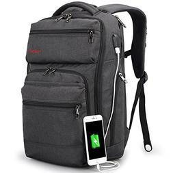 TIGERNU Business Backpack fits 15.6 Inch laptop/notebook Com