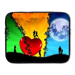 Business Briefcase Laptop Sleeve Fantasy Love Case Cover Han