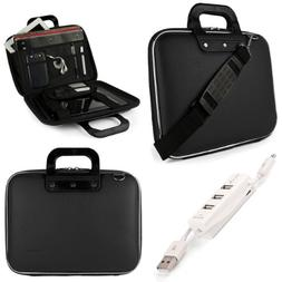 SumacLife Cady Briefcase Messenger Bag for MSI 15.6 inch Lap