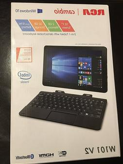 "***RCA Cambio 10.1"" 2-in-1 Tablet/ Laptop **INTEL**BRAND NEW"