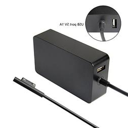 65W Charger for Microsoft Surface Pro 3 Pro 4 Tablet Surface