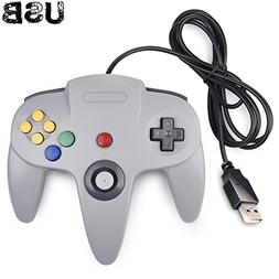 Classic N64 Controller, iNNEXT N64 Wired USB PC Game pad Joy