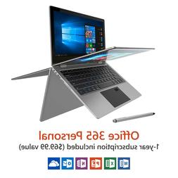 "Direkt-Tek 11.6"" Convertible Touchscreen Laptop, Windows 10,"