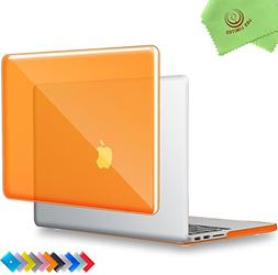 UESWILL Glossy Crystal Clear Hard Shell Case Cover for  MacB