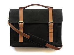 Chalk Factory Heavy Leather Messenger Bag Custom Made for Ac
