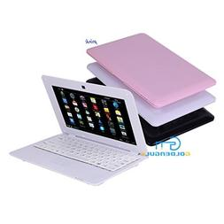 """Hot Sale Goldengulf 10"""" inch Pink Mini Android Computer Lapt"""