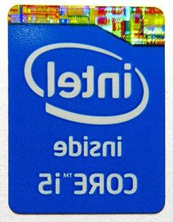 Original Intel Core i5 Inside Sticker 16 x 21mm