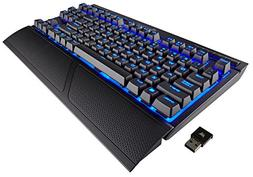 CORSAIR K63 Wireless Mechanical Gaming Keyboard, Backlit Blu
