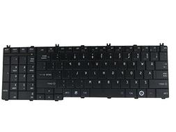 SUNMALL Keyboard Replacement for Toshiba Satellite C650 C650
