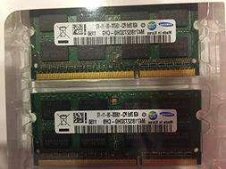 SAMSUNG 8GB kit DDR3 1333 MHz PC3 10600  SODIMM LAPTOP MEMOR