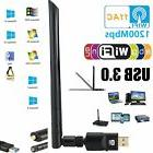 1200Mbps Dual Band USB Wifi Network Adapter 802.11ac 2.4 / 5