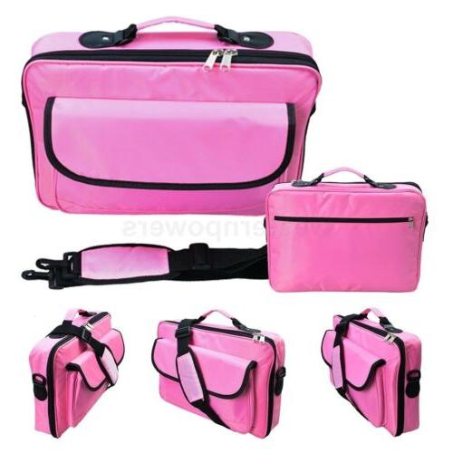 "17.3"" 17"" 16.4"" 15.6"" Inch Pink Notebook carry case for MacB"