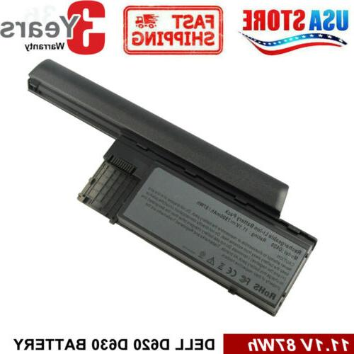 Battery / Charger for Dell Latitude D620 D630 D640 PC764 TC0