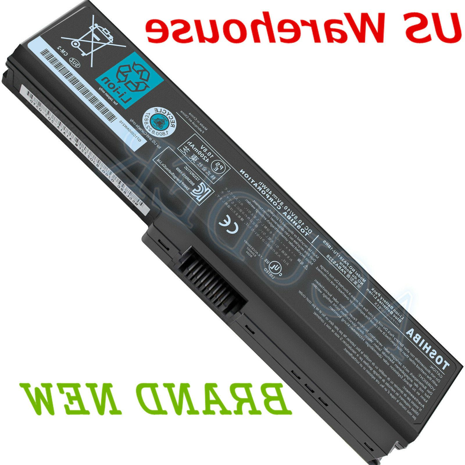 Genuine Original PA3817U-1BRS Toshiba Laptop Battery PA3818U
