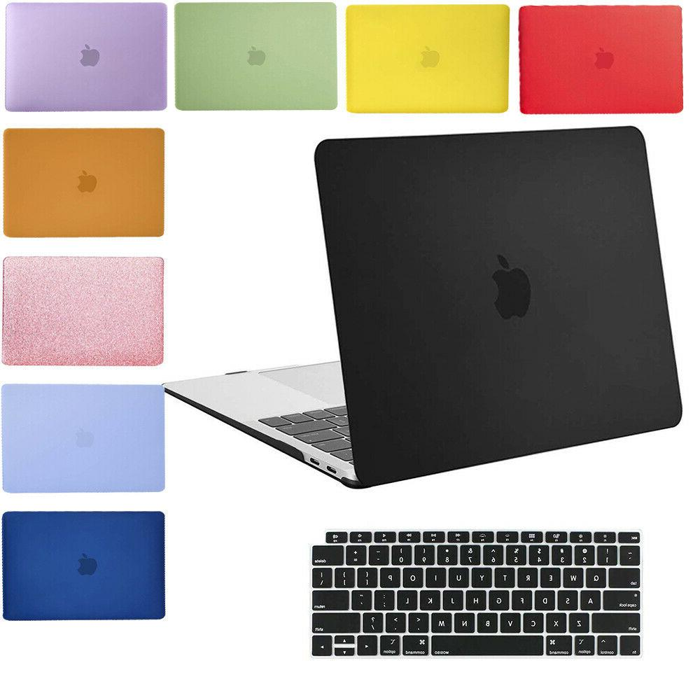 laptop rubberized hard cover case for apple
