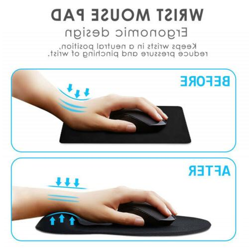 GIM Mouse Pad Gel with Anti-Slip Comfort Mice Computer