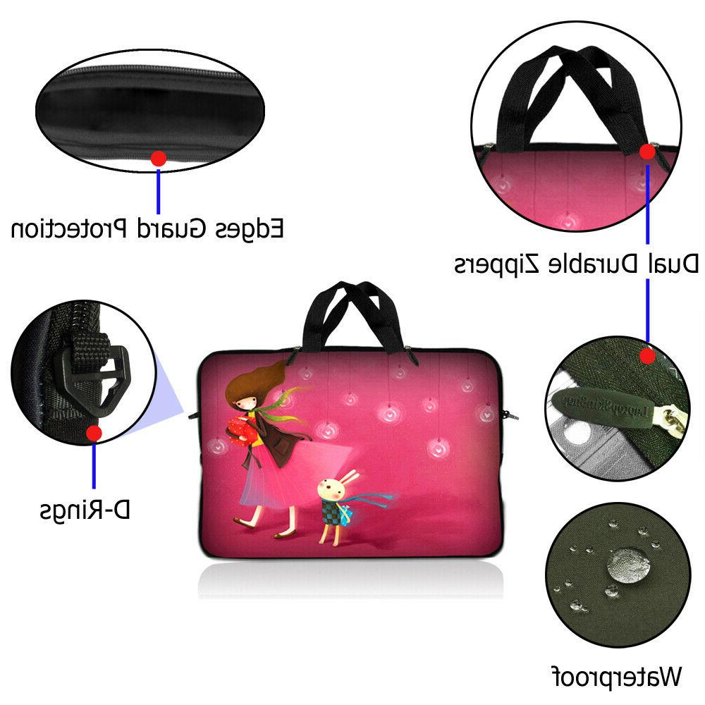 Neoprene Sleeve Computer Case Fit 10 inch 17.4 inch