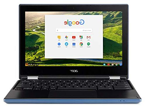 Acer R11 Convertible Chromebook HD Intel N3060 1.6Ghz up to 4GB RAM Webcam,