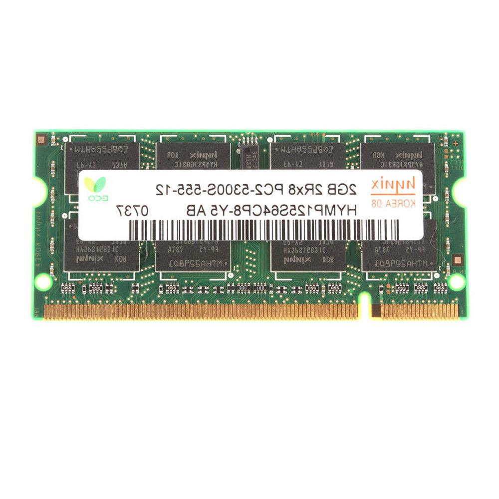 US Hynix 4GB 8GB PC2-5300 DDR2-667 667Mhz 200pin Laptop Sodimm Memory
