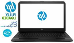 "HP Laptop 17.3"" Windows 10 8GB 1TB DVD+RW Webcam WiFi Blueto"