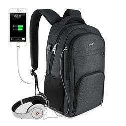 Voova Laptop Backpack with USB Charging Port Business Bag An