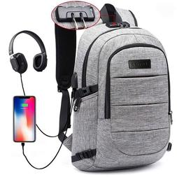 Laptop Backpack for School Travel, Fits 15.6in Computer Dura