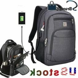 MARCELLO Laptop Backpack Business Travel College School Bag