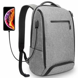 REYLEO Laptop Backpack Business Travel Computer Bag with USB