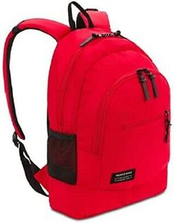 SWISSGEAR Laptop Backpack Model 2821 Daypack Red