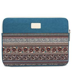 Feisman Laptop Sleeve 13-14.6 Inch Bohemian shockproof Canva