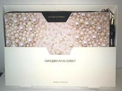 "Christian Siriano 13"" Laptop Sleeve Case Pink Pearl/Black CS"