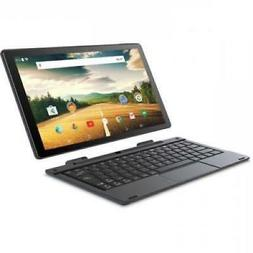 "2 In 1 Tablet Laptop 10"" Touchcreen 32GB Intel Atom Quad Cor"